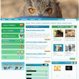 wild Life Saving website
