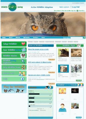 wild Life Saving website